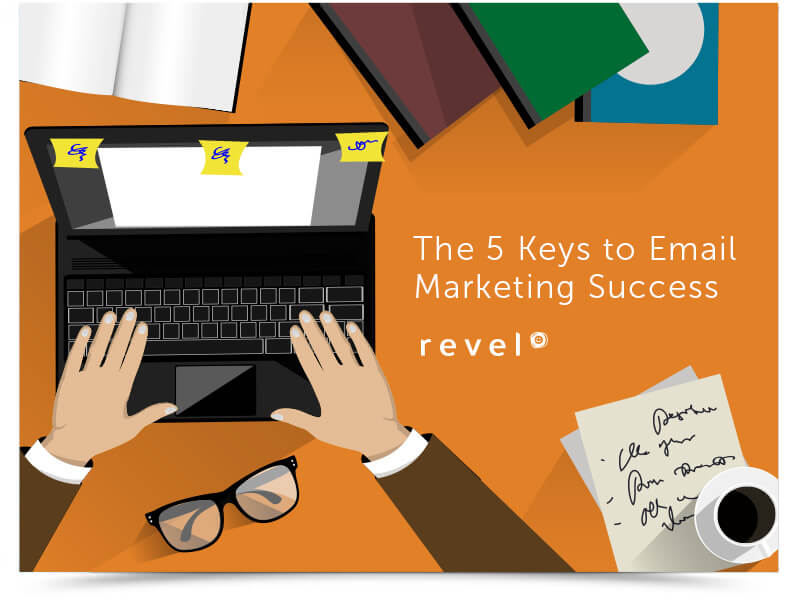 5 keys to email marketing ebook - Landing Page - Email Marketing